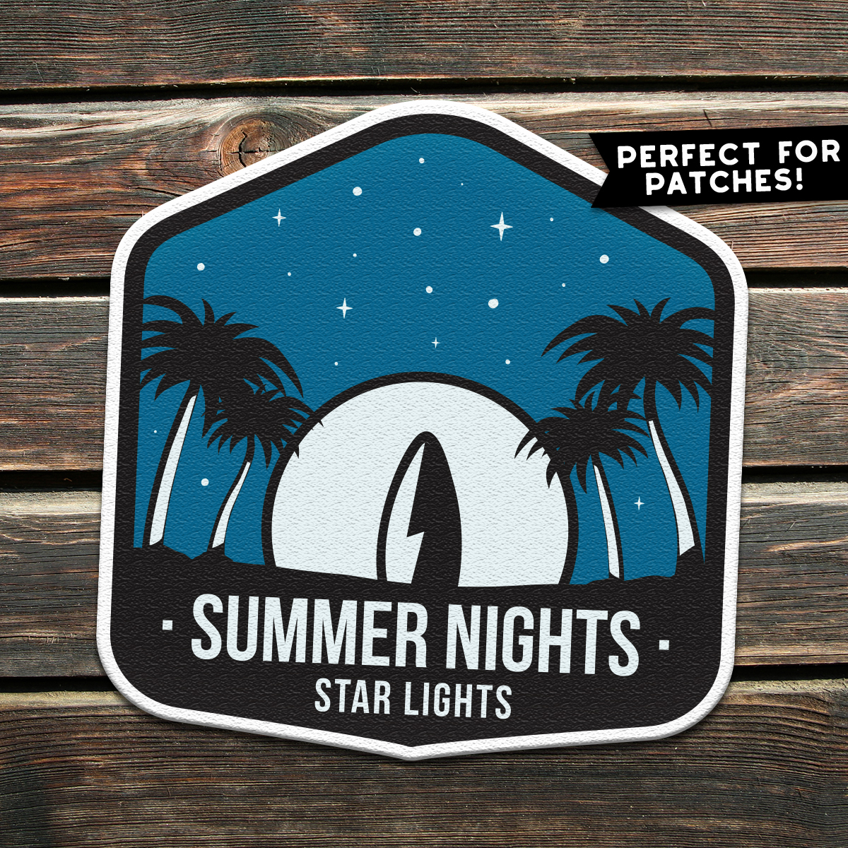 Surfing Vector Logo, Summer Retro Adventure Retro SVG File example image 3
