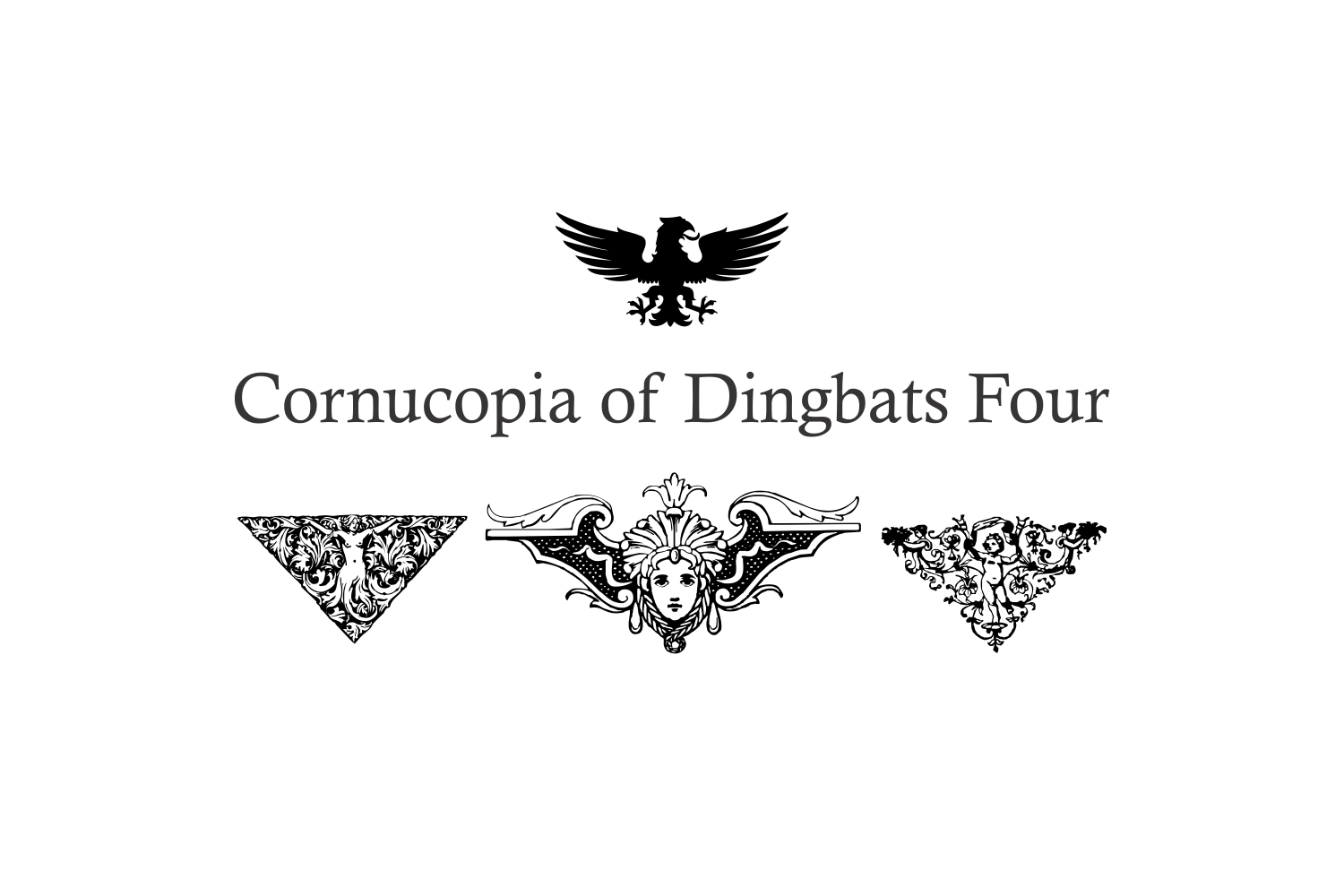 Cornucopia of Dingbats Four example image 2