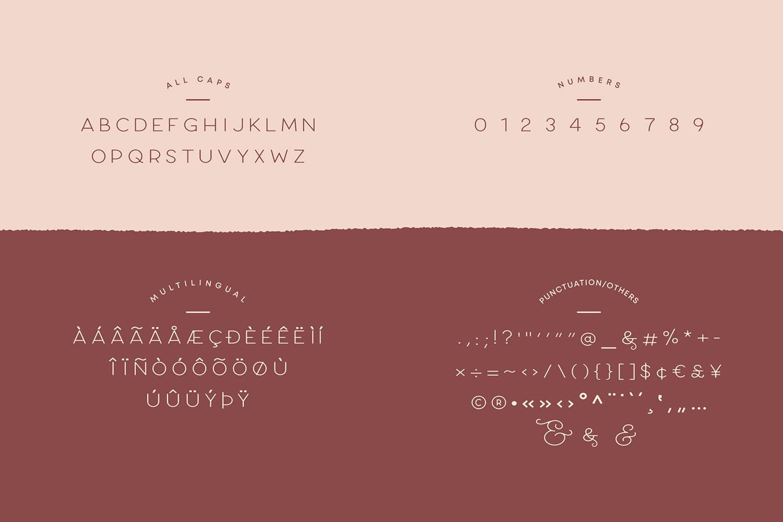 Larosa Sans- 7 Elegant Typeface example image 14