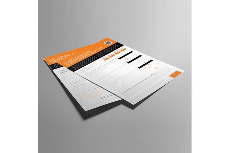 Client Satisfaction Survey Template US Letter example image 2