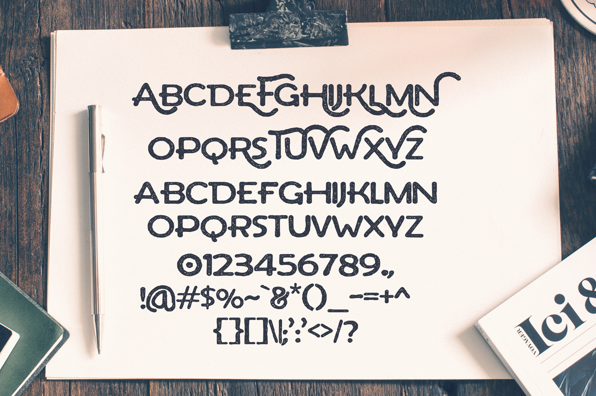 Arthur Typeface example image 3