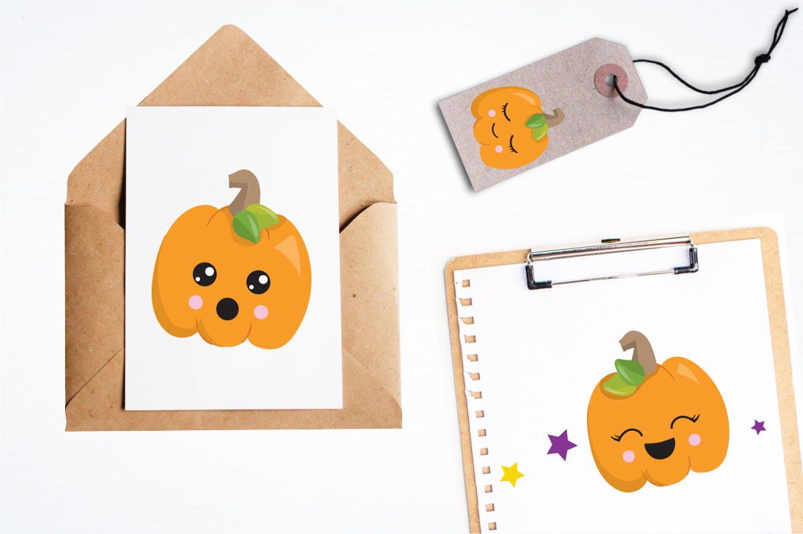 Little Pumpkin graphic and illustrations example image 2