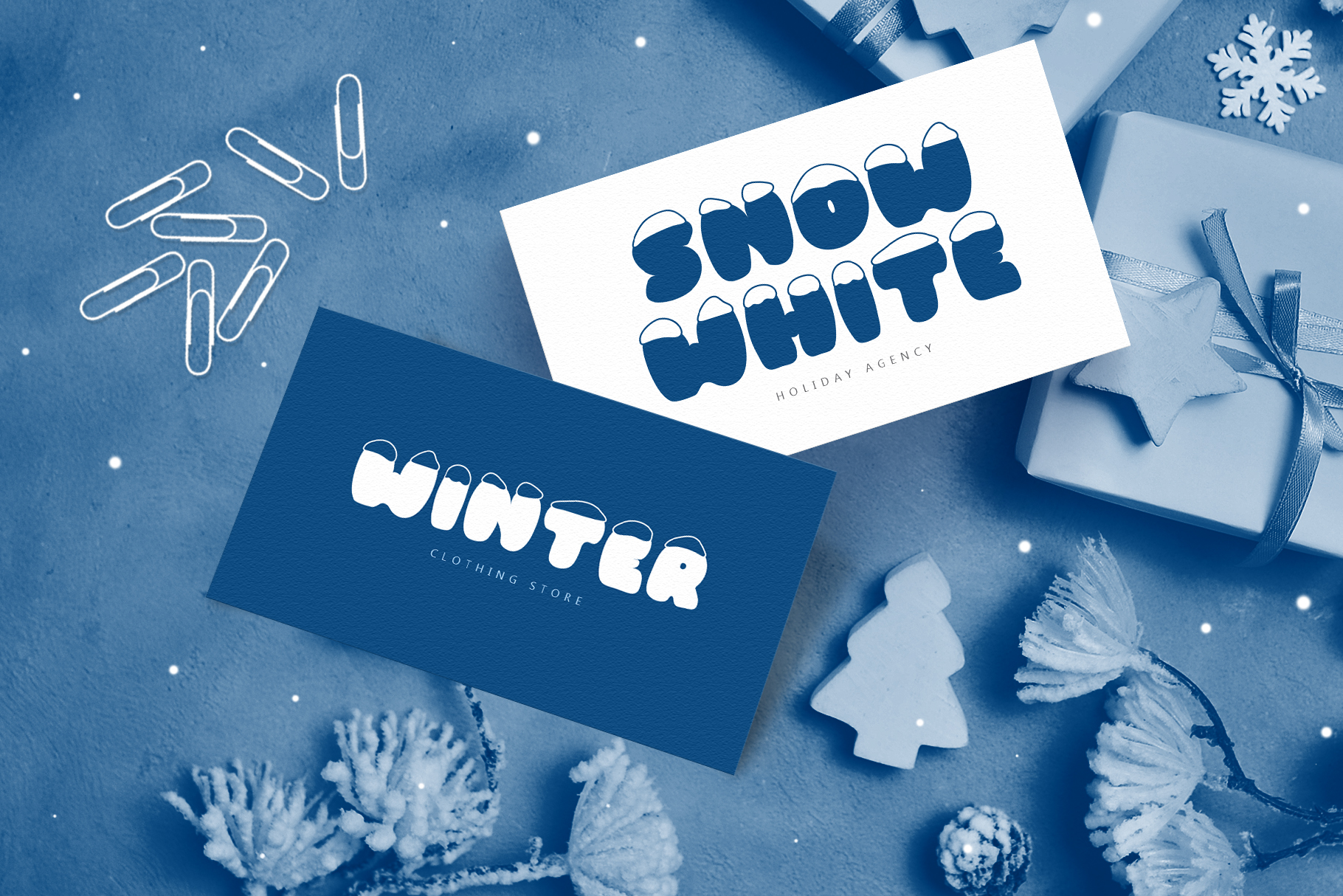 Frosty Joy Hand Drawn Display Font example image 2