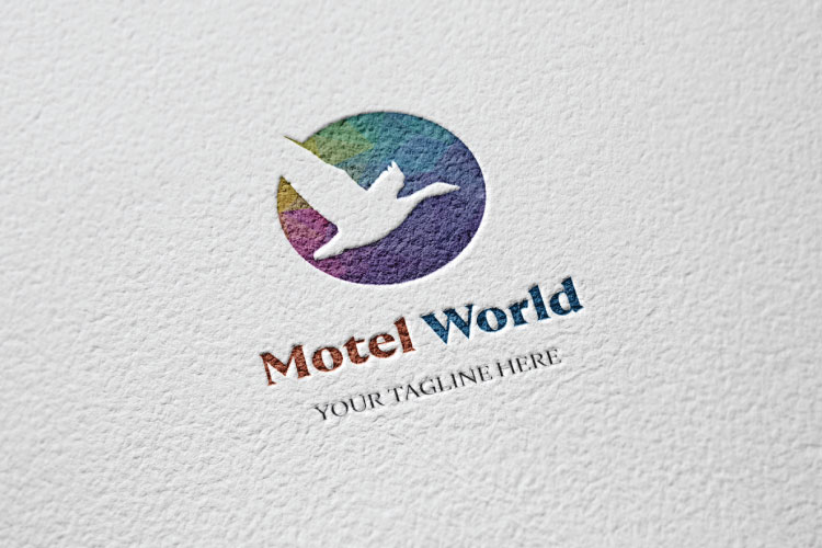 Pigeon Flying Logo Design example image 2