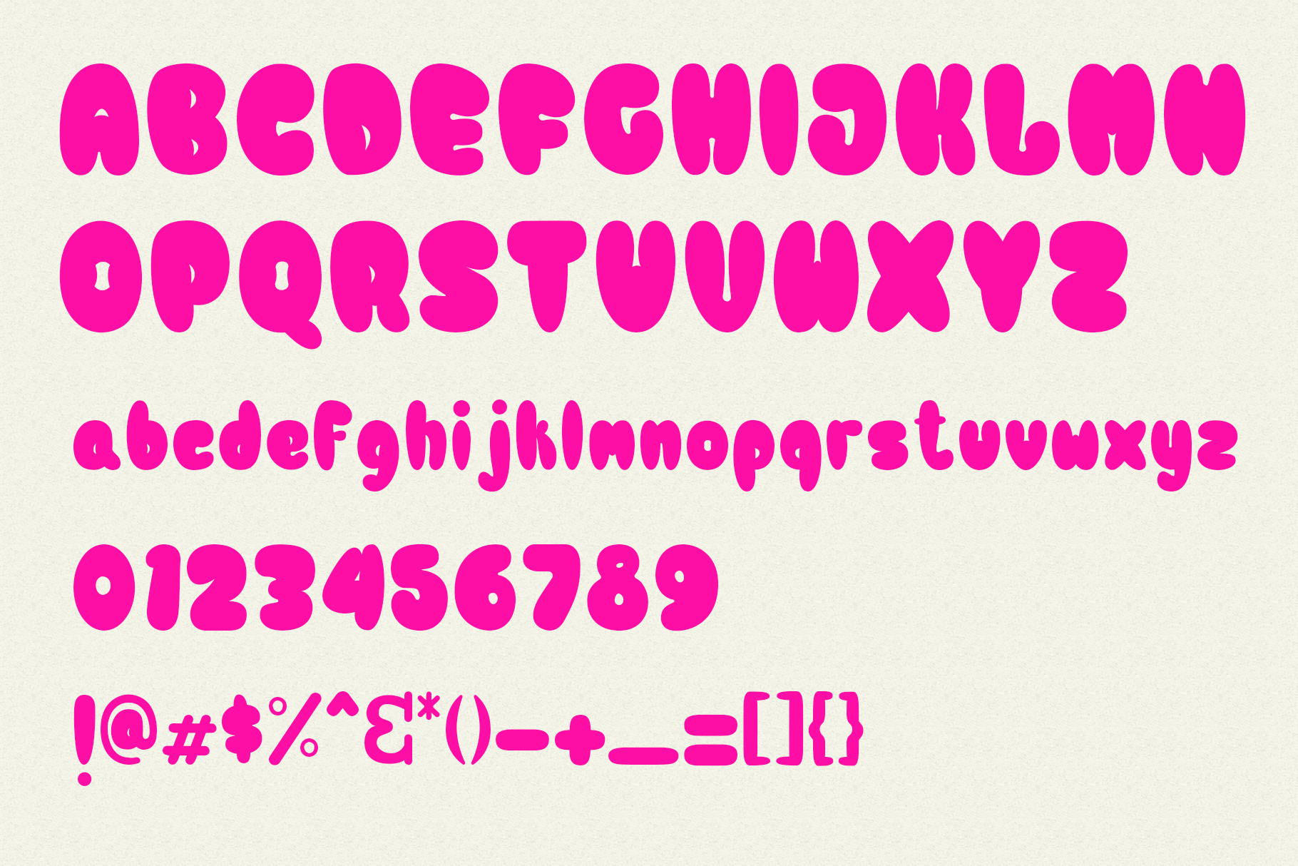 Bulb Layered Font example image 4