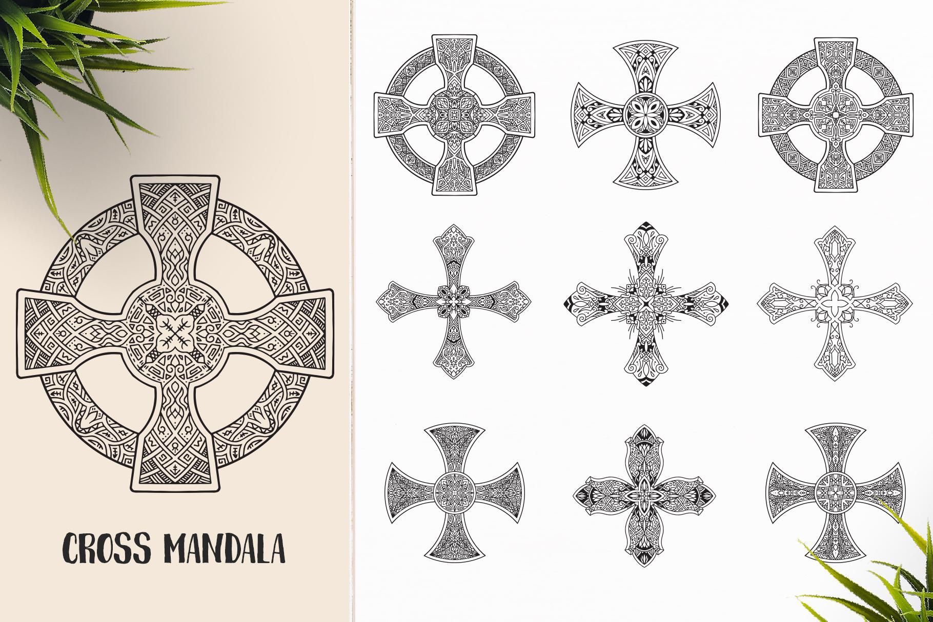 530 Vector Mandala Ornaments Bundle example image 18