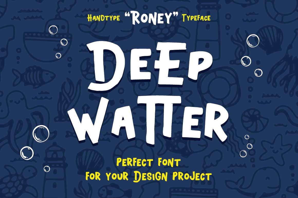 Roney Typeface example image 2