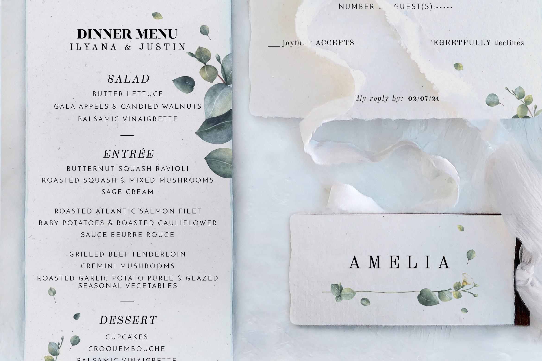 Eucalyptus Foliage Wedding Suite example image 4