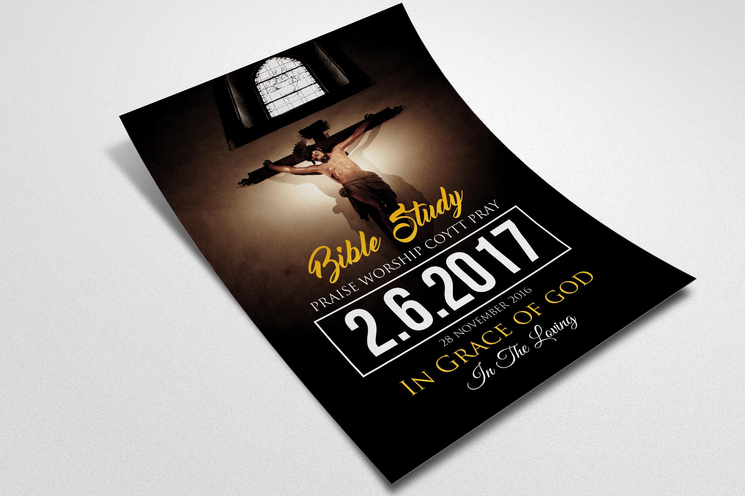 Jesus Church Flyer Templates example image 2