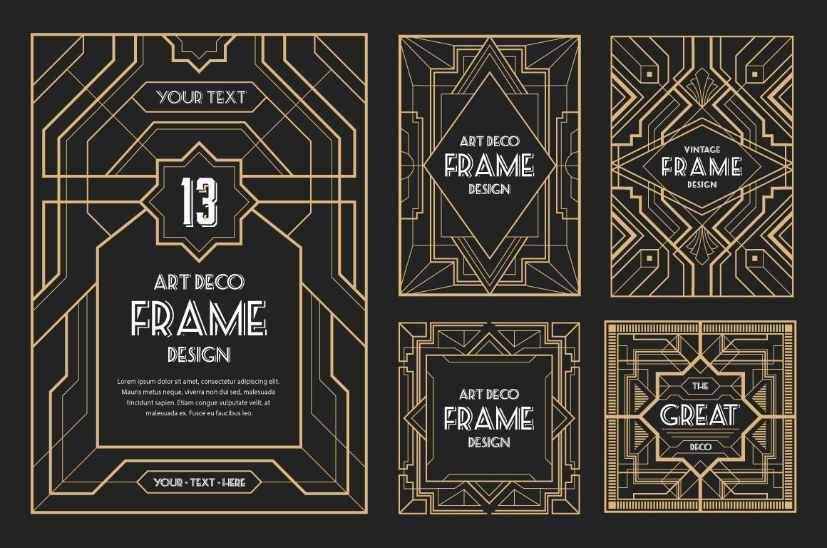 30 Line Art Badge & Frame Label example image 2