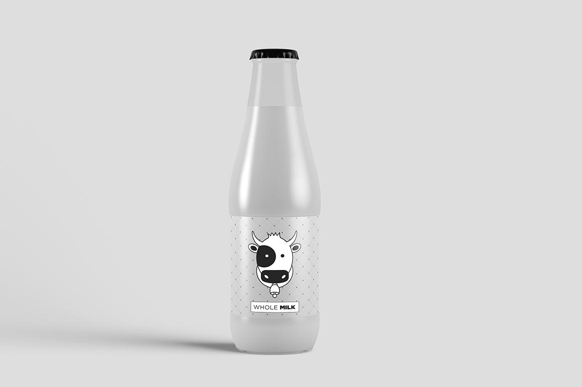 Juice Bottle Mock-Up example image 10