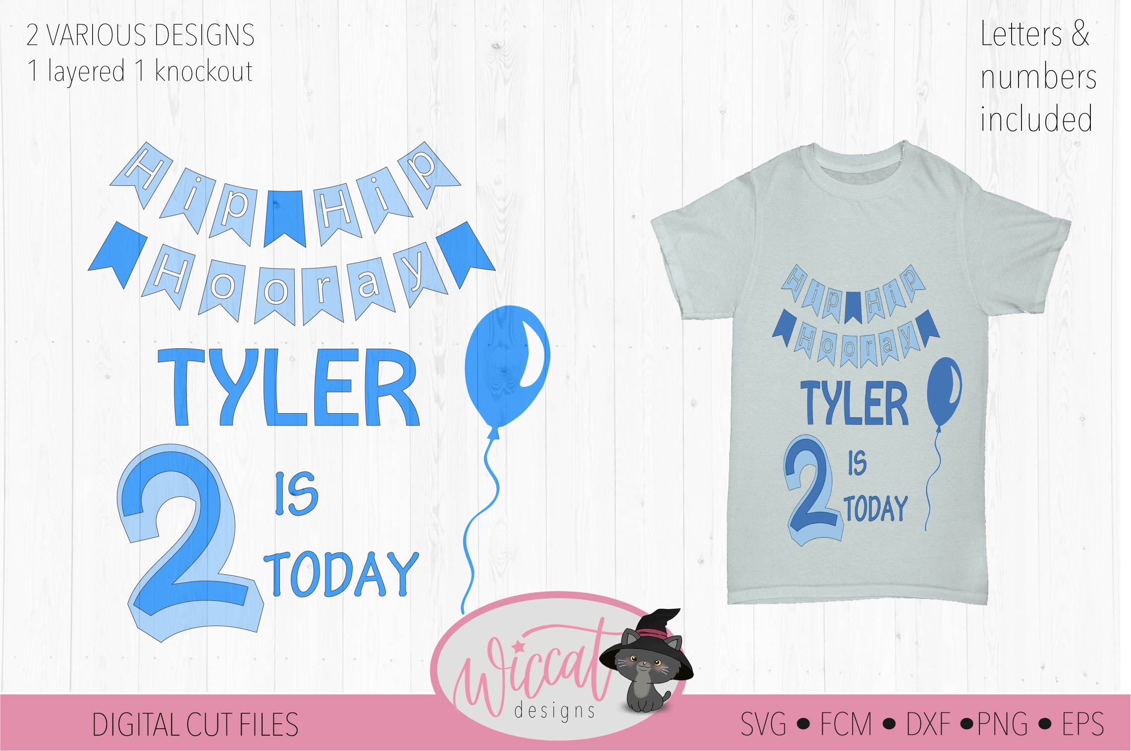 Happy birthday svg, banner svg, ages 1 to 9 cut file example image 3