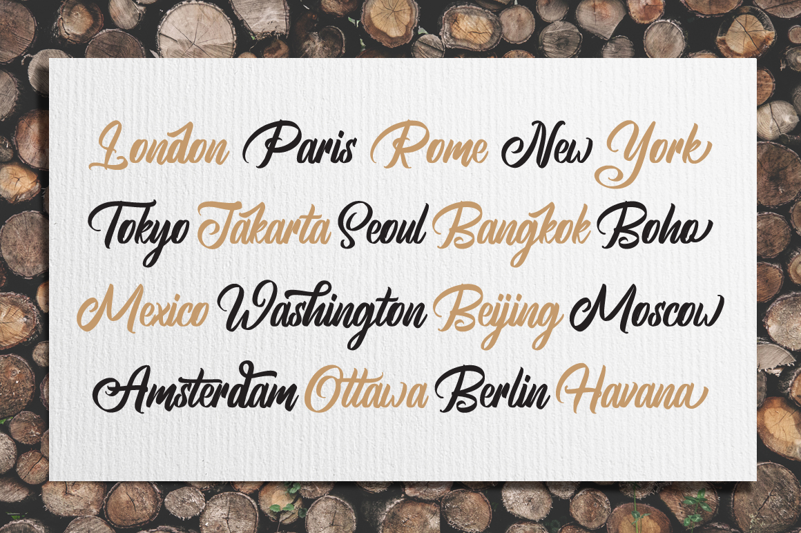 Brightsome - Script Font example image 2