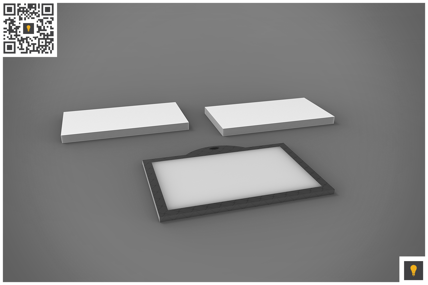 Branding Stationary 3D Render example image 13