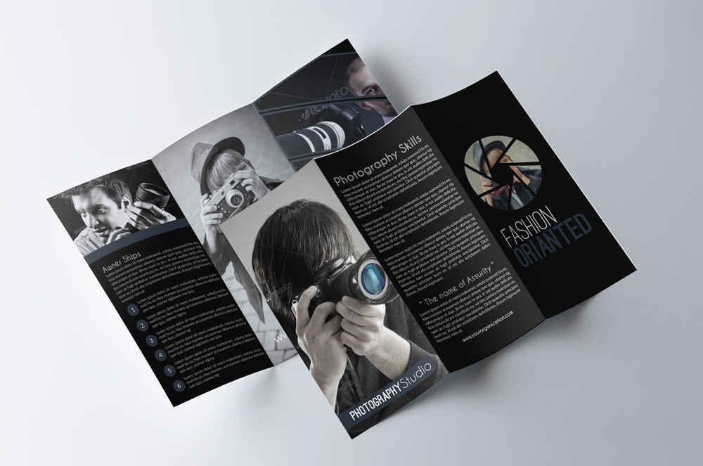 Photography Business Trifold Brochurs example image 3