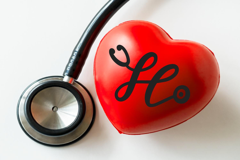 Stethoscope Script - A Nurse Font example image 4