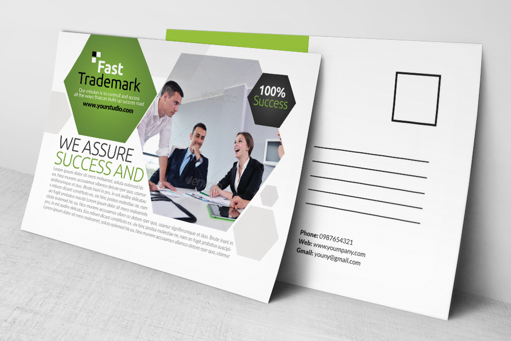 Corporate Business Post Cards example image 2