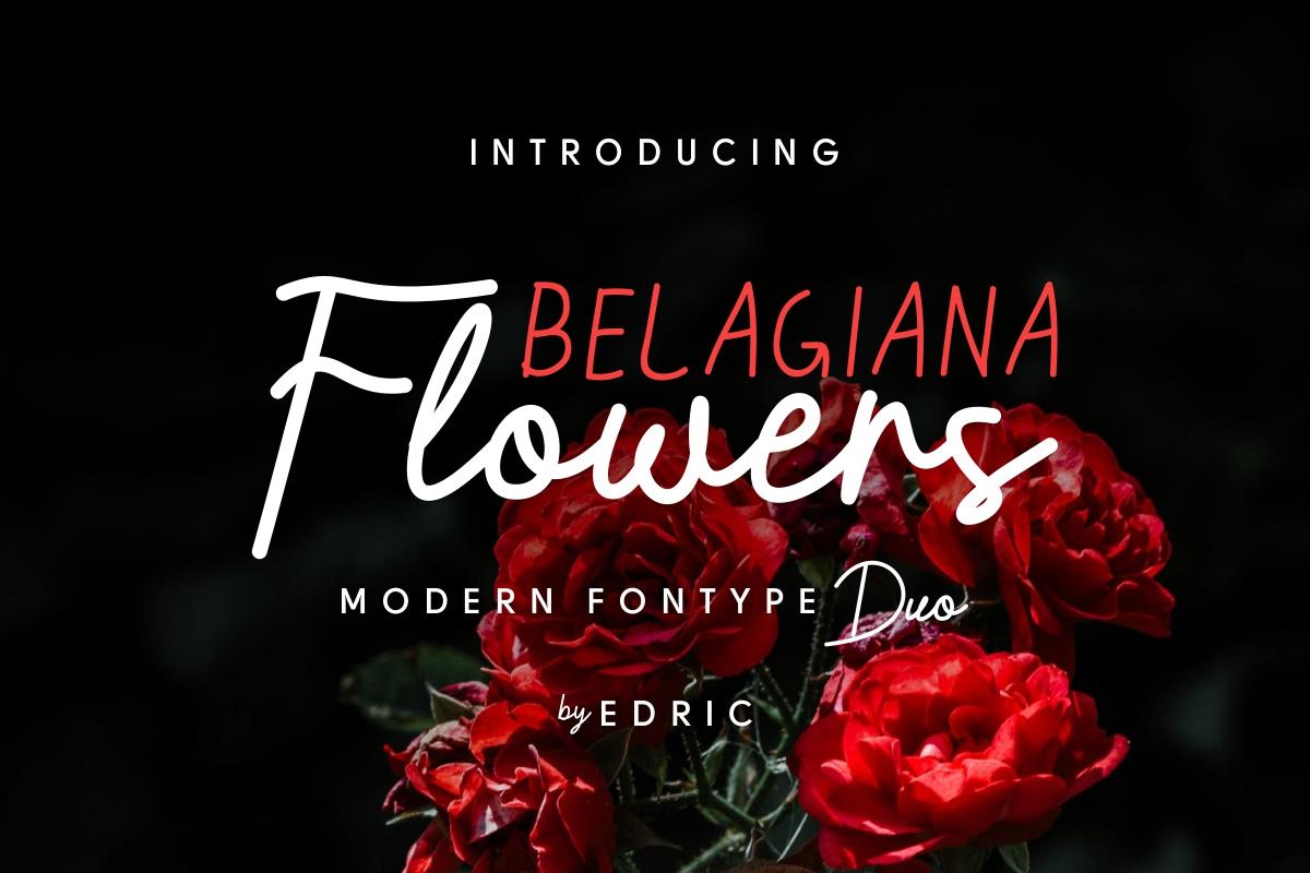 Belagiana Flowers example image 1