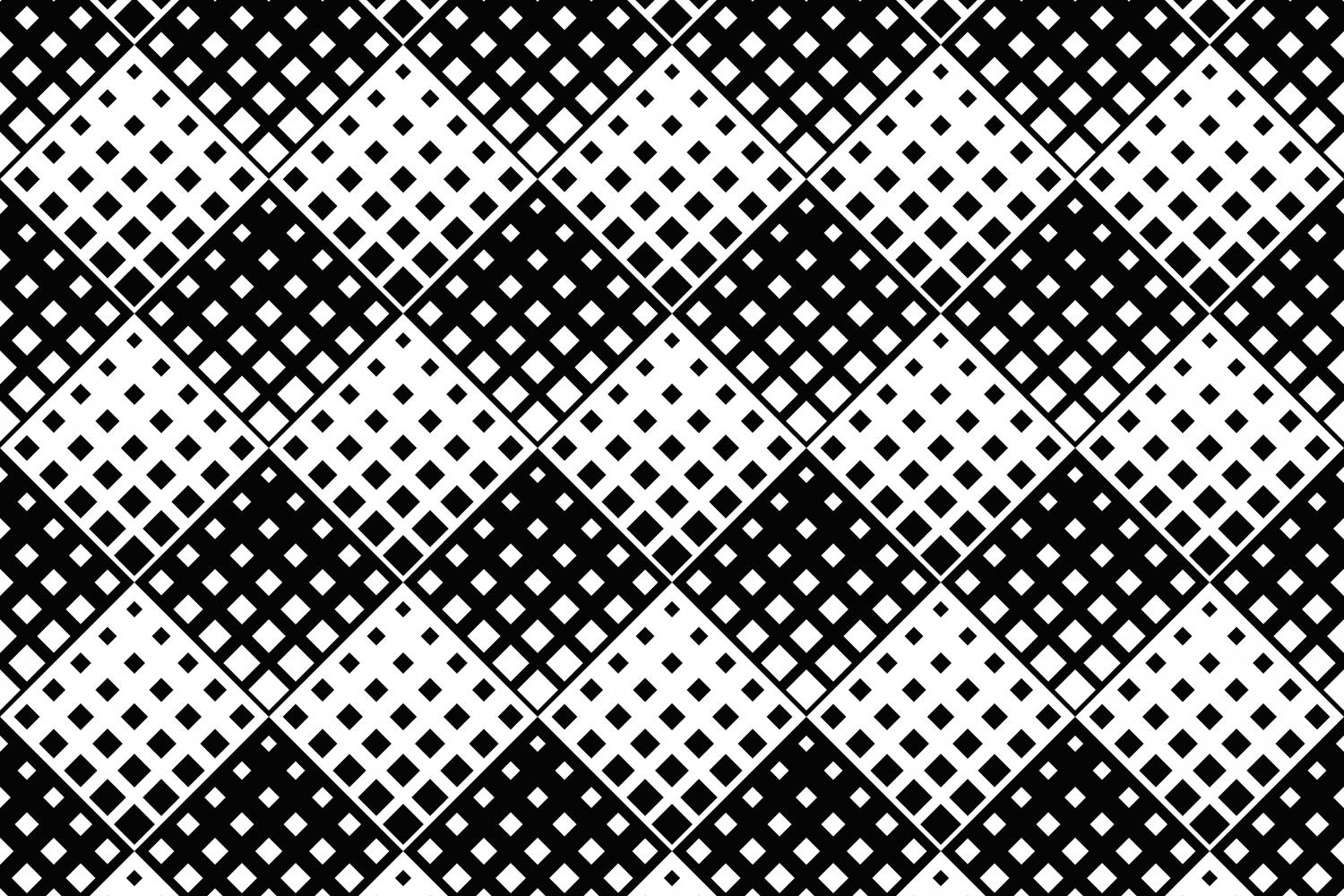 24 Seamless Square Patterns example image 14