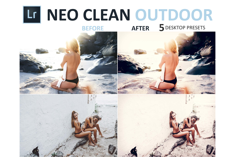 Neo Clean Outdoor Desktop Lightroom Presets example image 4