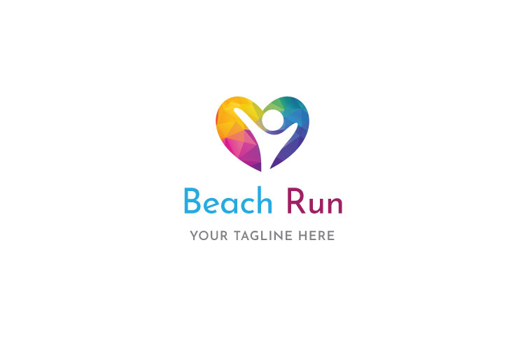 Beach Run Logo example image 1