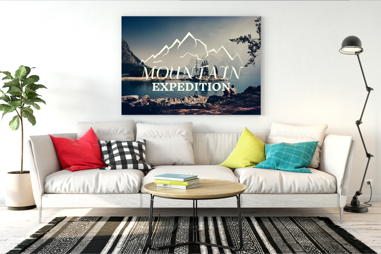 Mountain Expedition Logo Template, Retro Camp SVG File example image 2