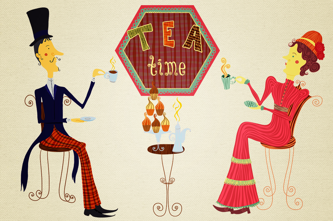 Tea time and sweet home collection example image 1
