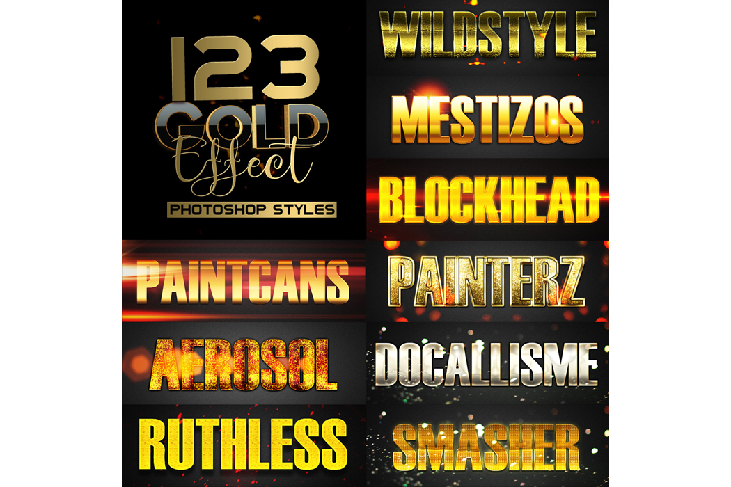 1600+ Mega Bundle Photoshop Styles example image 8
