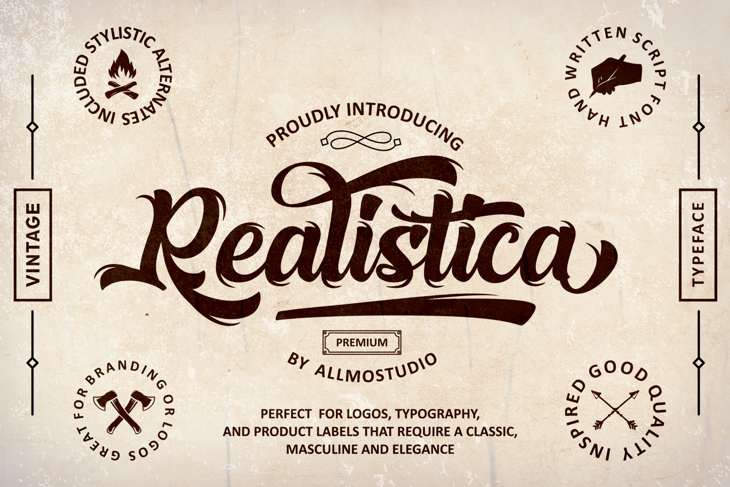 Realistica Font example image 1