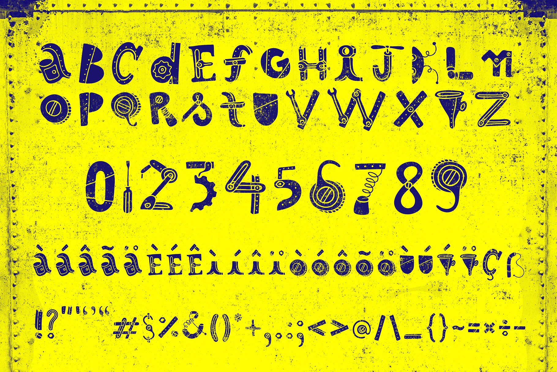 Robotikka Typeface example image 2