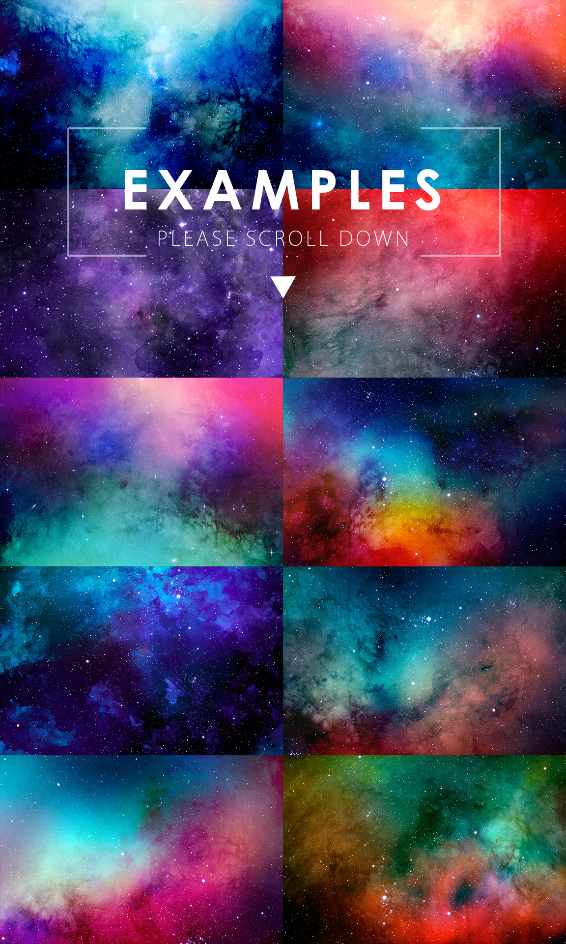 Only Watercolor Backgrounds Bundle example image 25