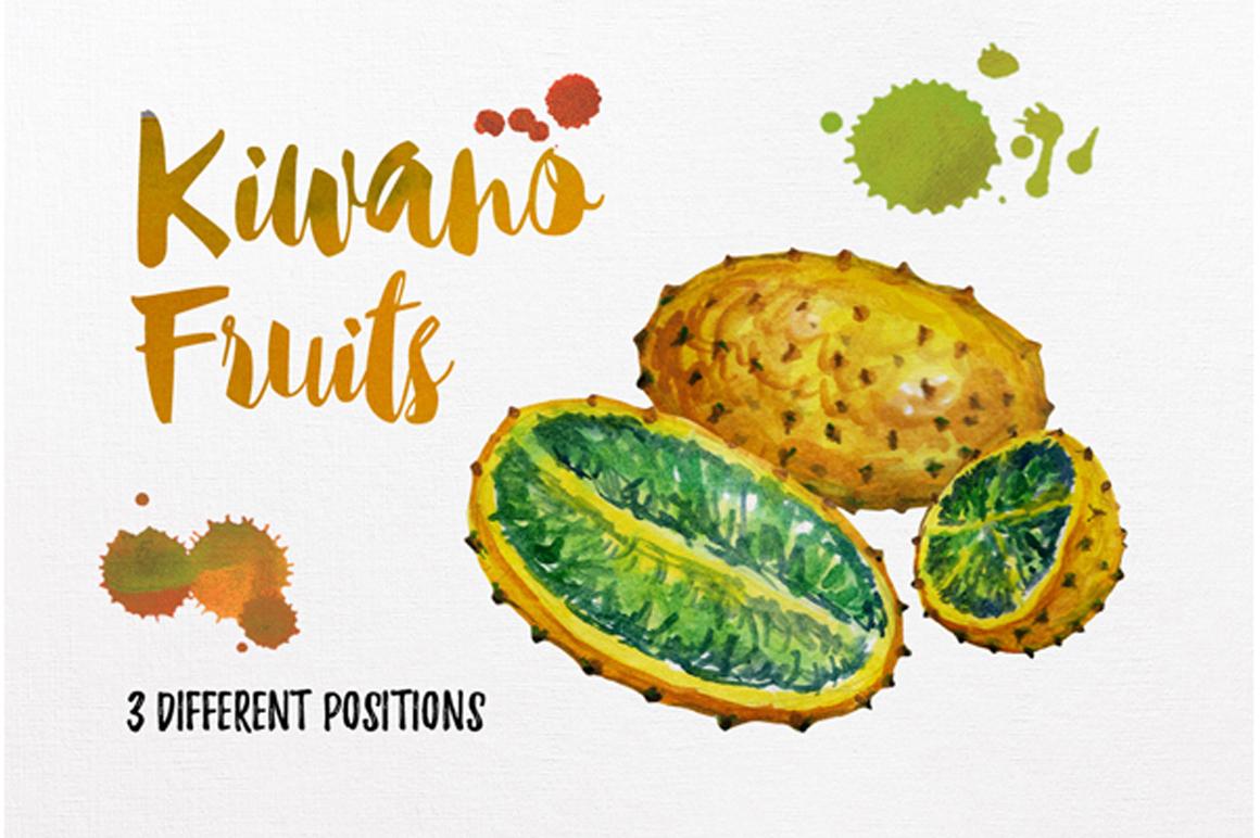watercolor fruit vol.7 example image 7