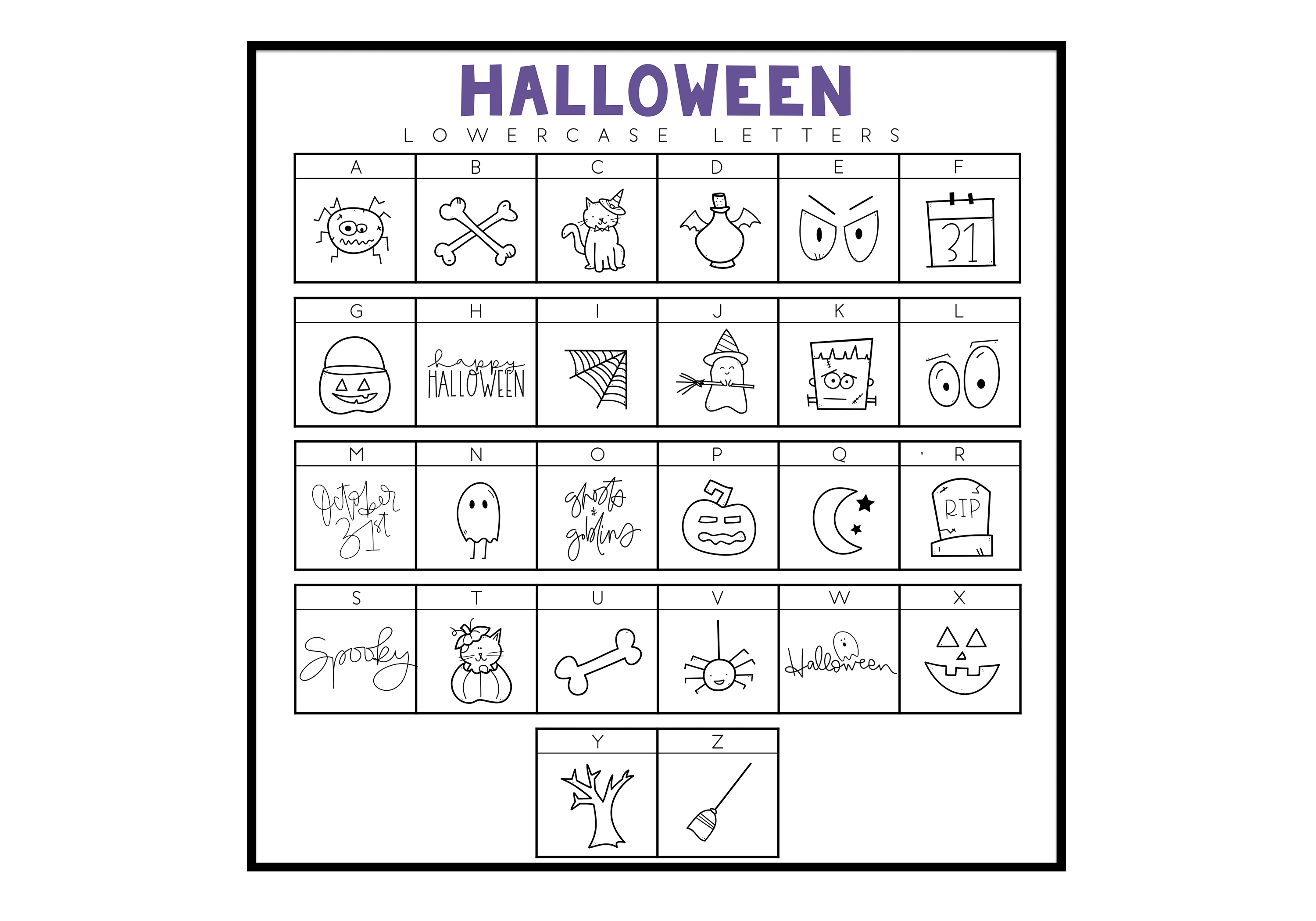 Creep It Real - A Spooky Halloween Doodles Font example image 2