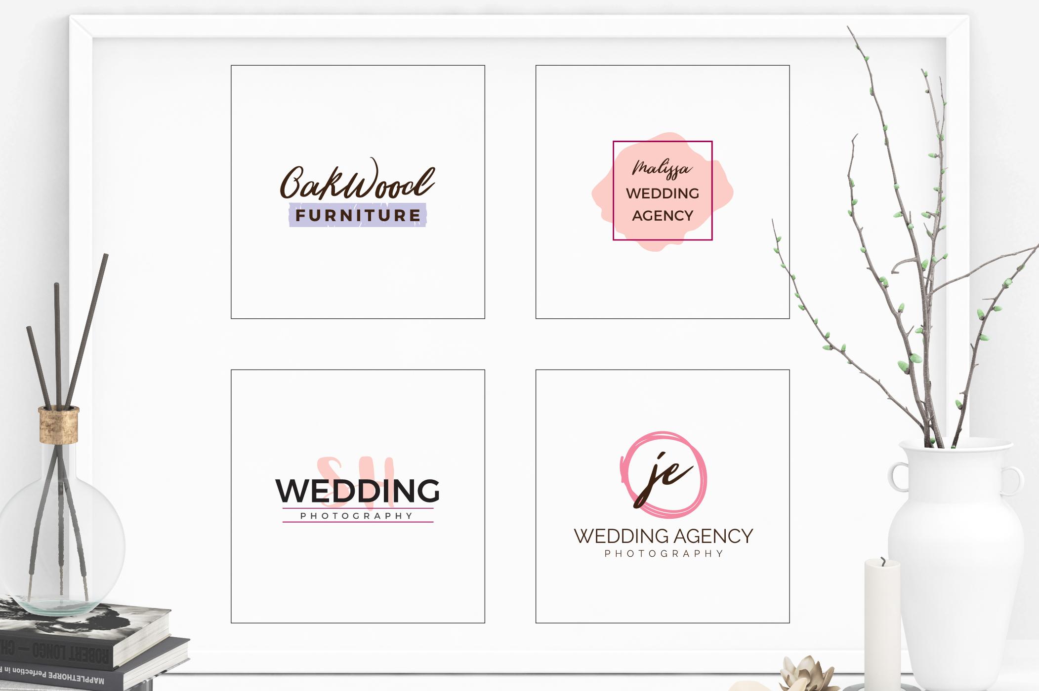 GIRLPOWER Feminine Branding Logo Pack example image 5