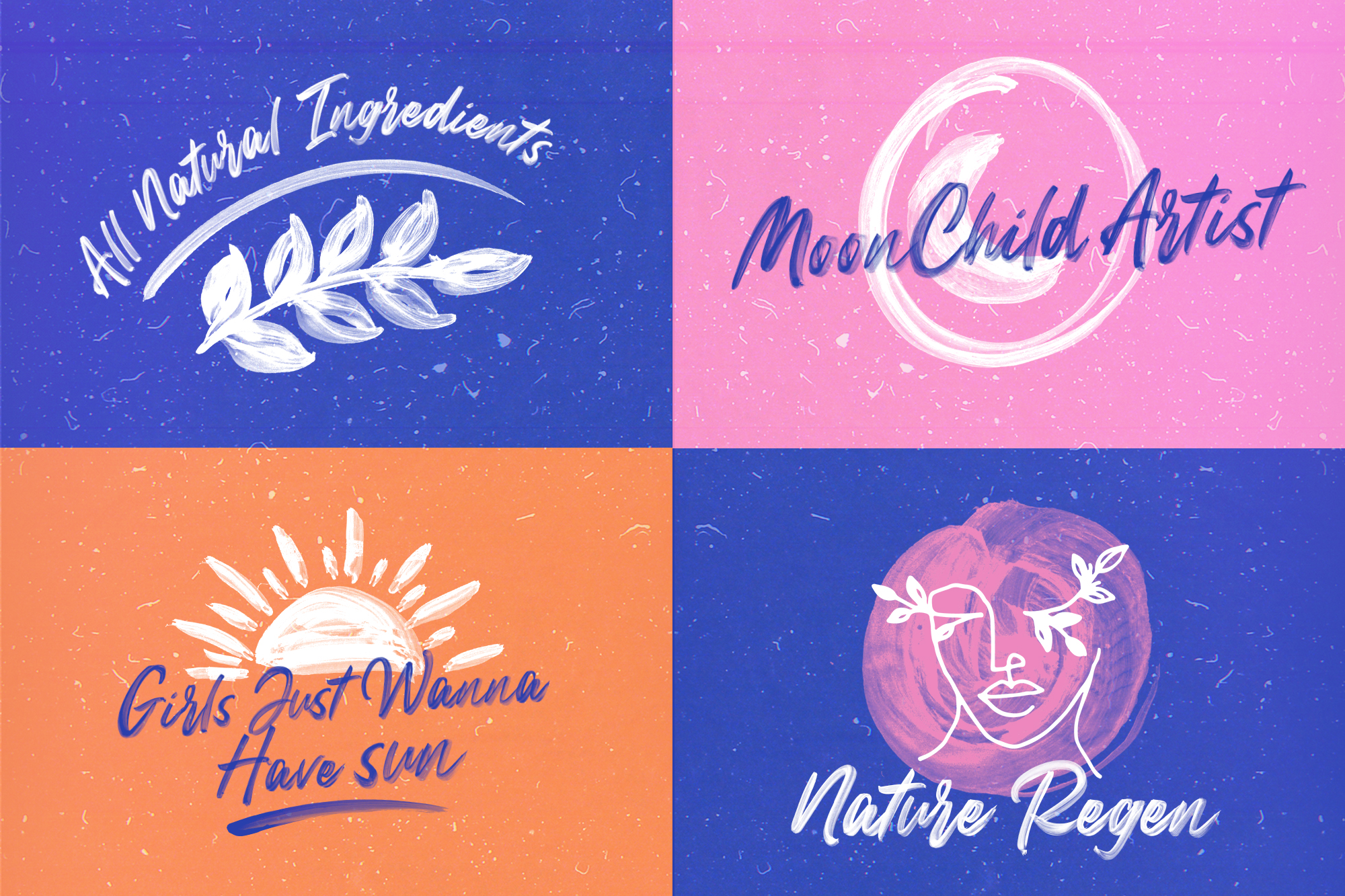 Peachy Keen Font Collection example image 10