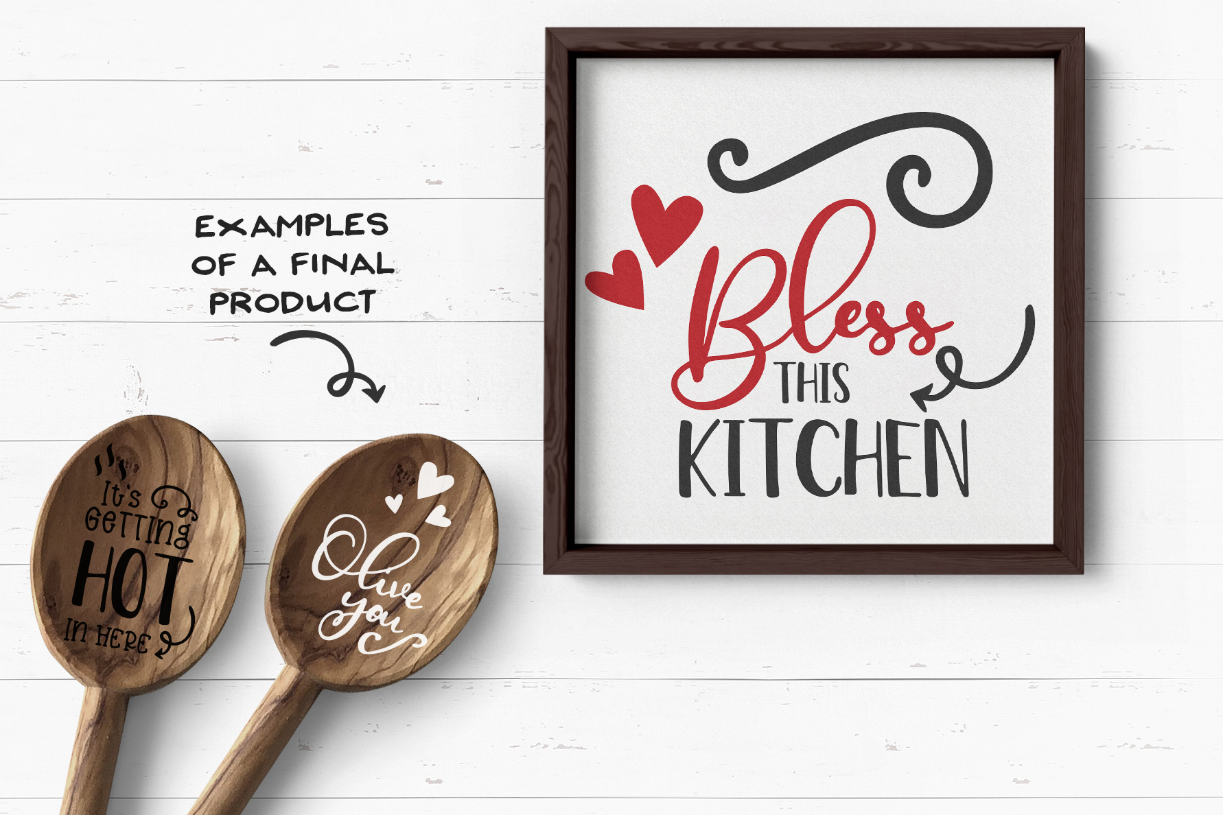 Kitchen SVG Bundle | Funny Kitchen Sign Builder example image 3