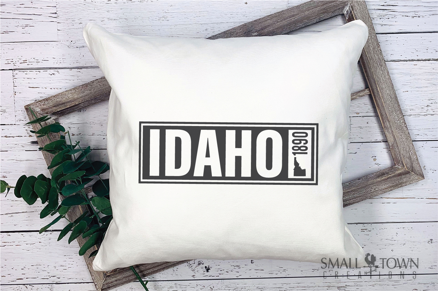 Idaho, Famous Potatoes- slogan, Logo, PRINT, CUT & DESIGN example image 3