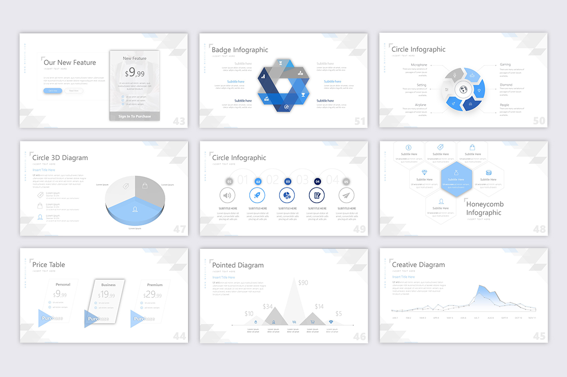 Exclusive Powerpoint Template example image 2