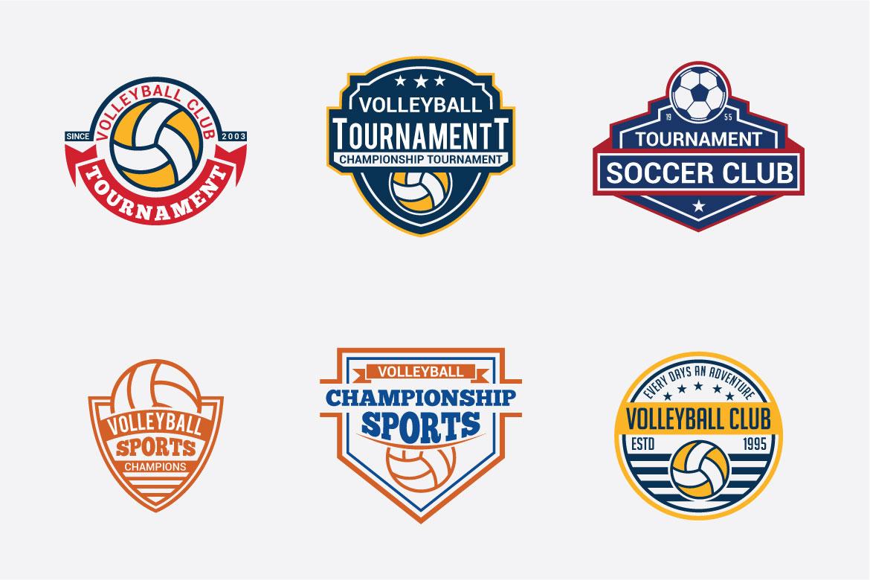 66 SPORTS Logo Templates BUNDLE example image 7