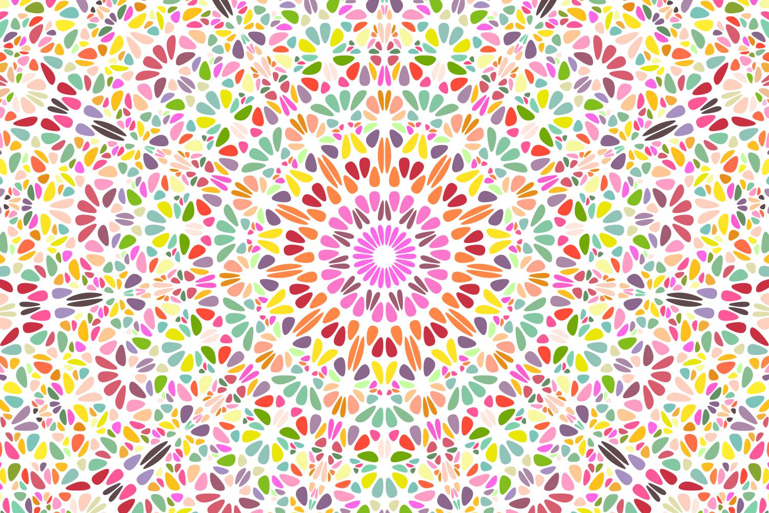 48 Floral Mandala Backgrounds example image 2