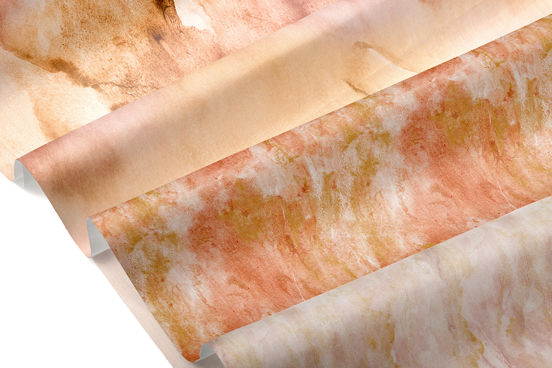 20 Seamless Watercolor Textures - Burnt Orange Backgrounds example image 25