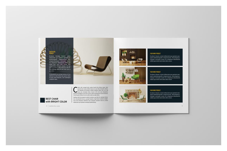 Square Brochure Catalog example image 7