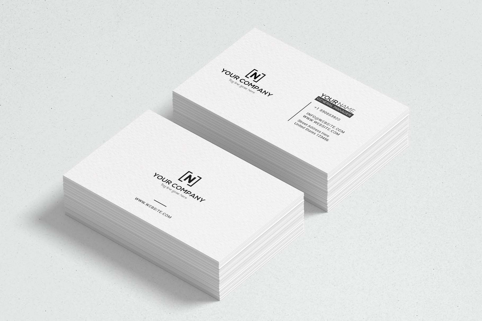 Minimal Business Cards example image 3