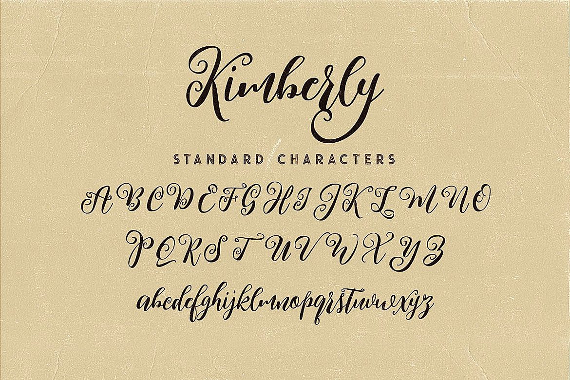 Kimberly Script Font example image 6