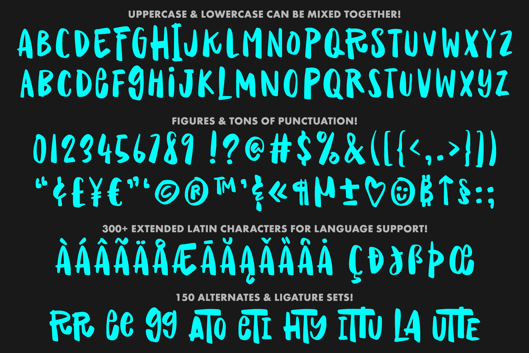 Raisin Rage - a fun casual font with alternates! example image 2