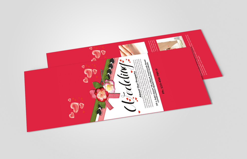 Christmas Rack Card Template example image 2