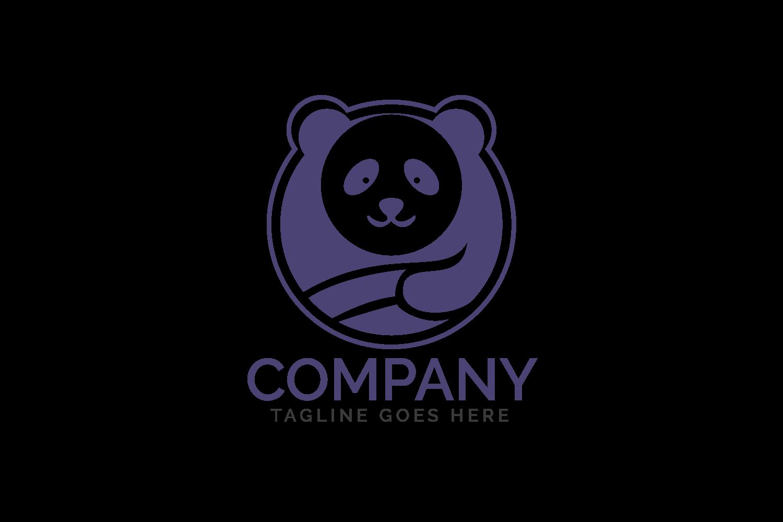 Panda logo design. example image 2