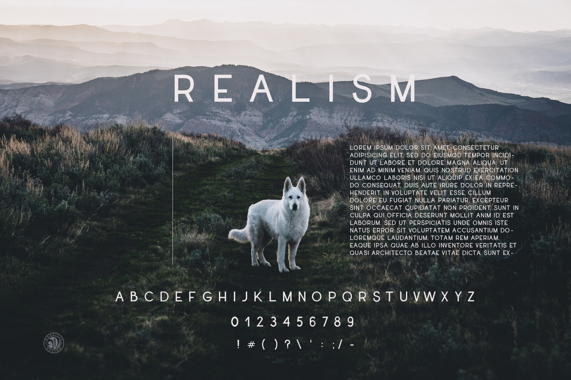 Realism Font example image 6