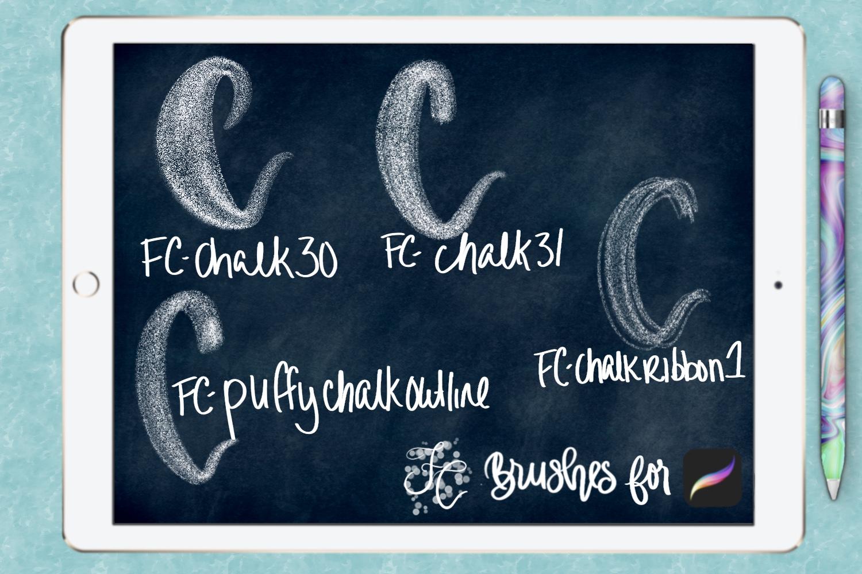 FC-chalk-set 4for PROCREATE example image 3