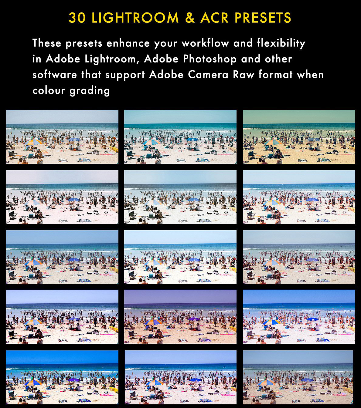 Cinematic Aspect Ratio PS Action & Lightroom Presets example image 7